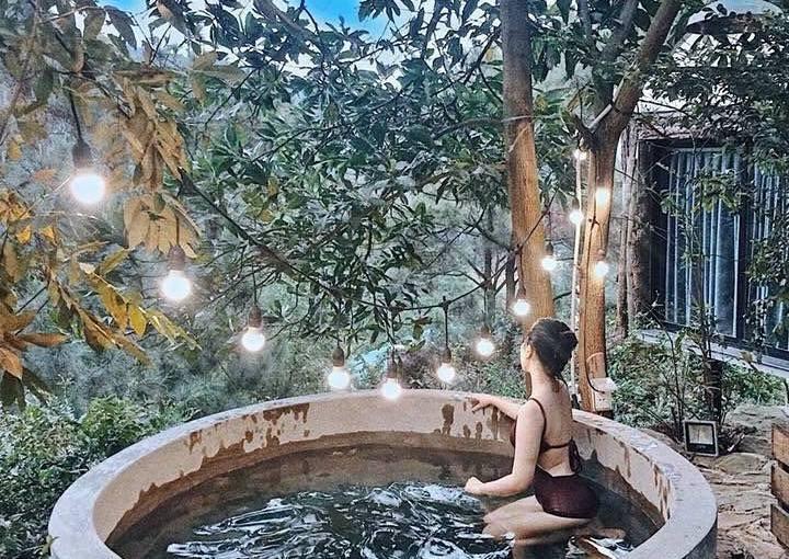 Team Hà Nội rủ nhau trốn nắng ở NHÀ BÊN RỪNG đẹp như resortBali